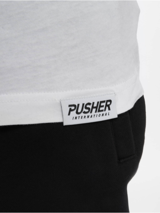 Pusher Apparel T-Shirty Power bialy