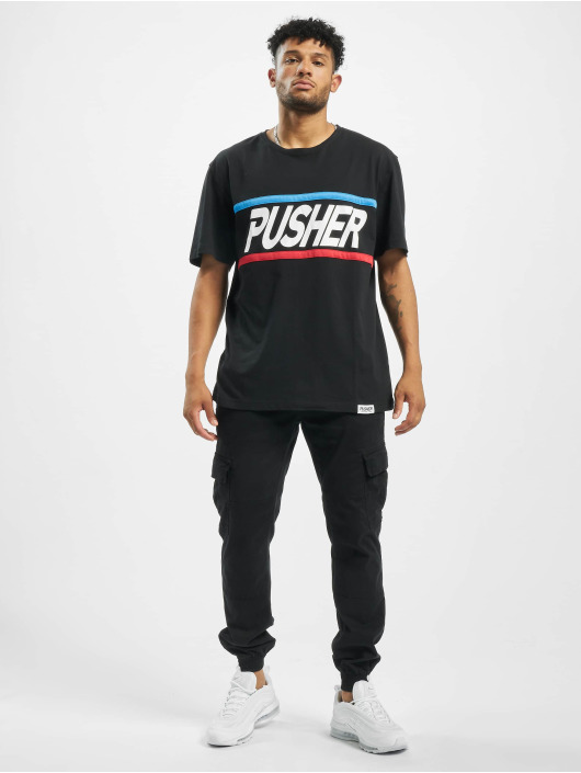 Pusher Apparel T-Shirty More Power czarny