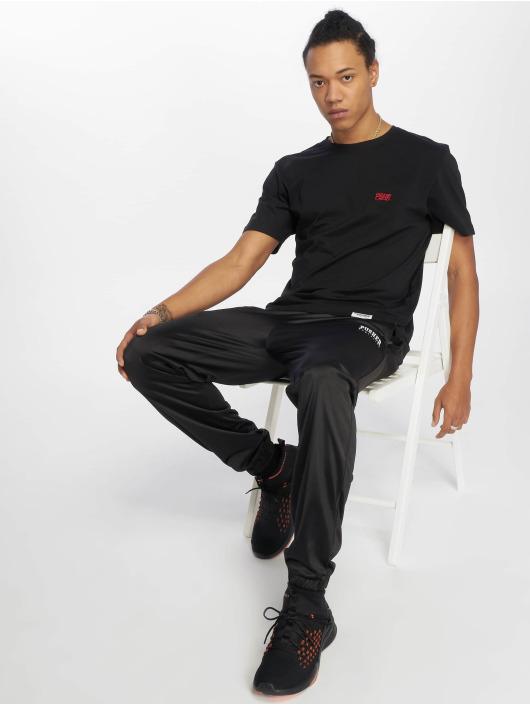Pusher Apparel T-Shirty Pshr czarny
