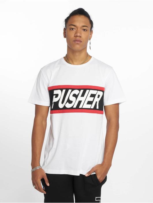 Pusher Apparel T-skjorter Power hvit