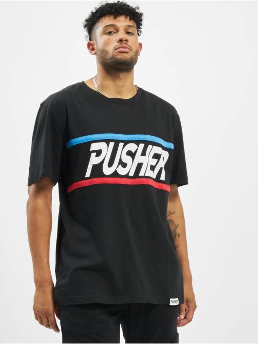 Pusher Apparel T-skjorter More Power svart