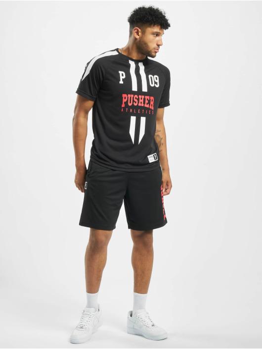 Pusher Apparel Trikot Authentic Football schwarz