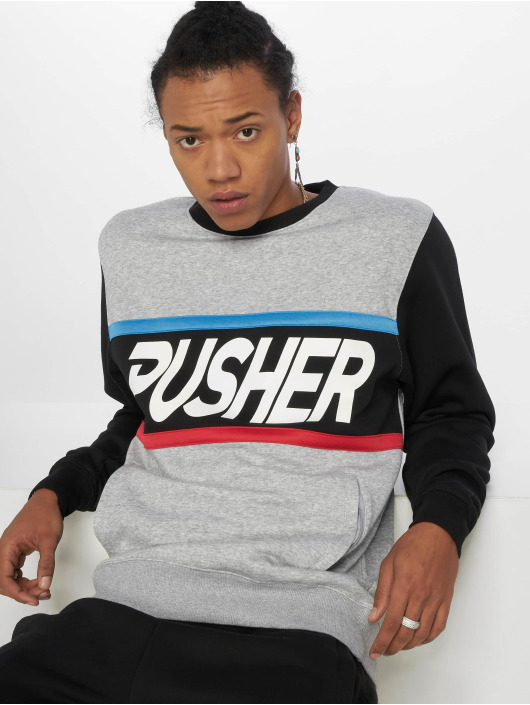 Pusher Apparel Trøjer More Power grå