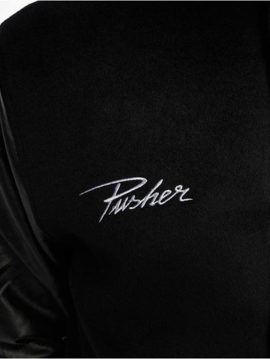 Pusher Apparel Veste mi-saison légère Varsity noir