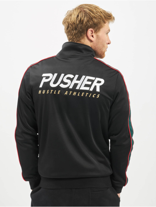 Pusher Apparel Zomerjas Apparel Hustle zwart