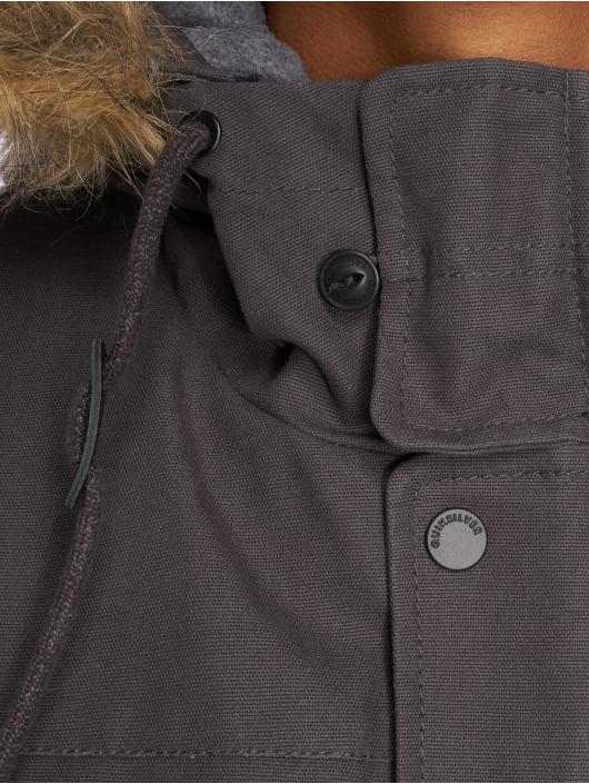 Quiksilver Manteau hiver Storm Drop 5K gris