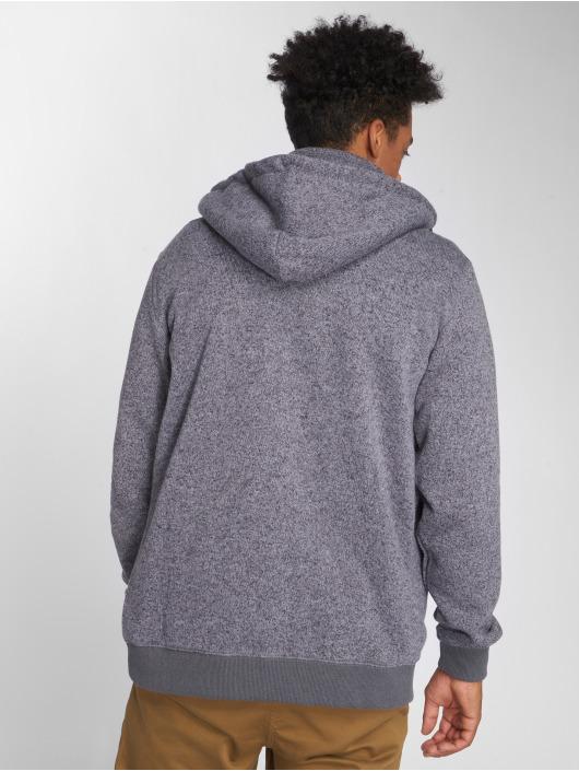 Quiksilver Sweat capuche zippé Keller gris