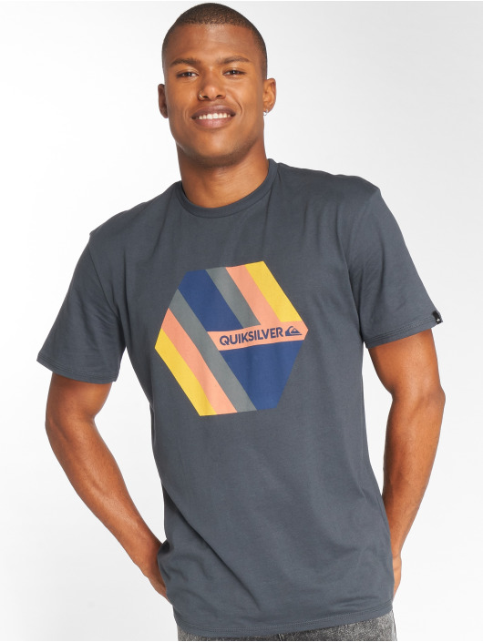 Quiksilver T-Shirt Retro Right bleu