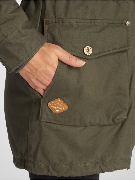 Ragwear Manteau hiver Clancy brun