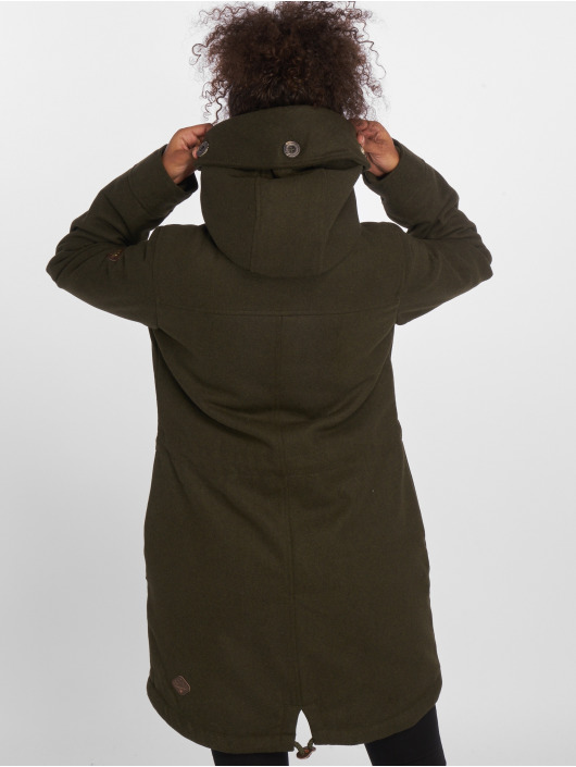 Ragwear Vinterjakke Elba Coat oliven