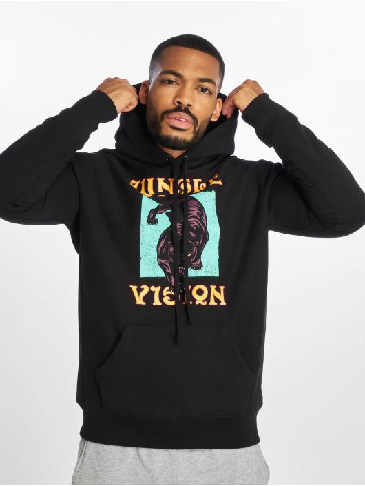 Raised by Wolves Hoodie Jungle Vision black