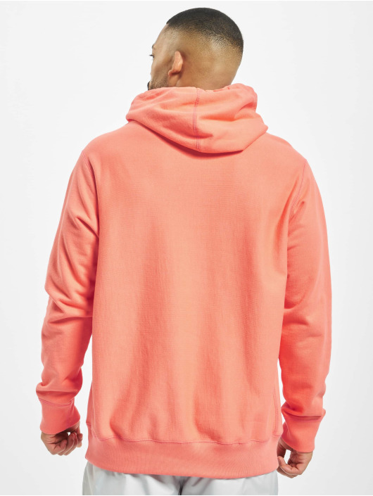 Raised by Wolves Hoody Box Logo pink