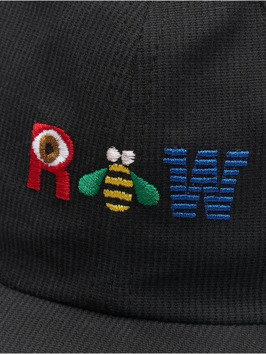 Raised by Wolves snapback cap R Bee W Dad zwart