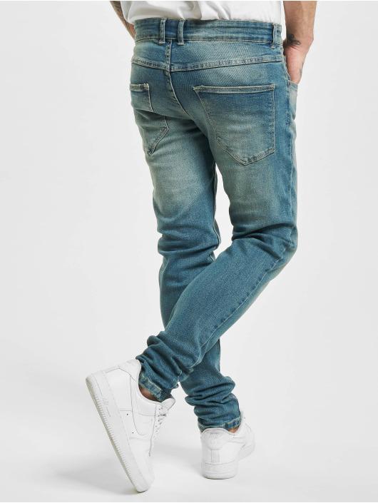 Redefined Rebel Облегающие джинсы Rrstockholm синий