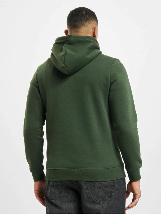 Redefined Rebel Bluzy z kapturem Rebel Rralfred zielony