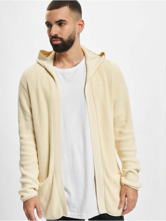 Redefined Rebel Cardigan Cabe Knit bianco