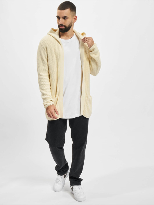 Redefined Rebel Cardigan Cabe Knit white
