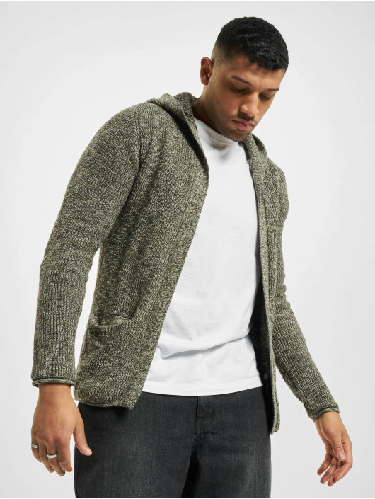 Redefined Rebel Kardigán Rebel Cabe Cardigan zelená