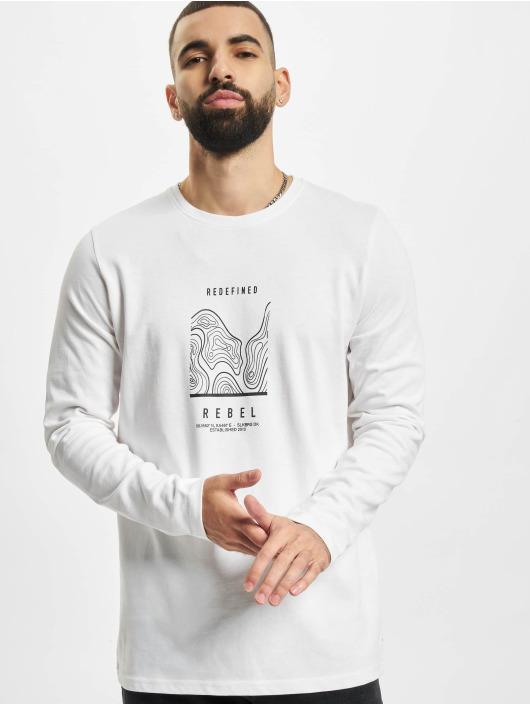 Redefined Rebel Pitkähihaiset paidat RRJohnson valkoinen