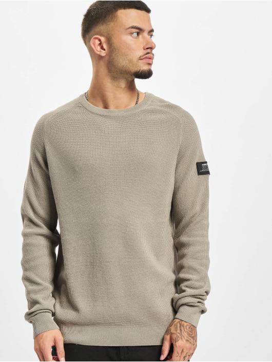 Redefined Rebel Pullover Bear Knit grau