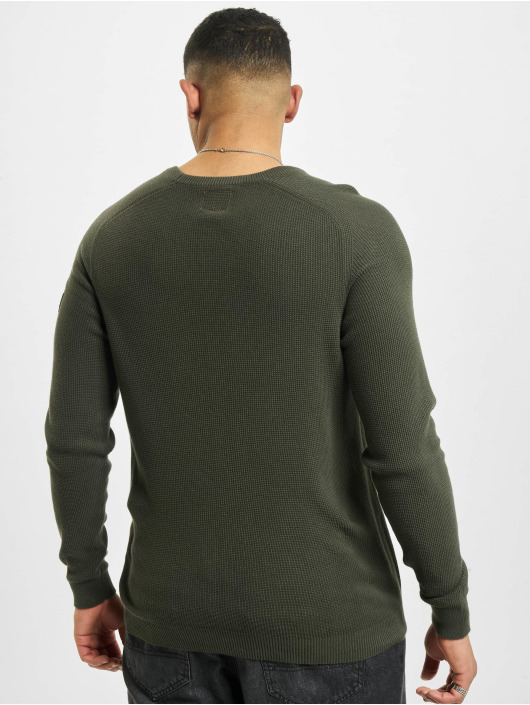 Redefined Rebel Pullover Rrbear green