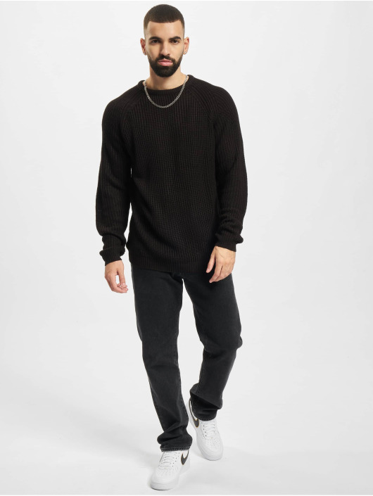 Redefined Rebel Pullover RRTony Knit schwarz
