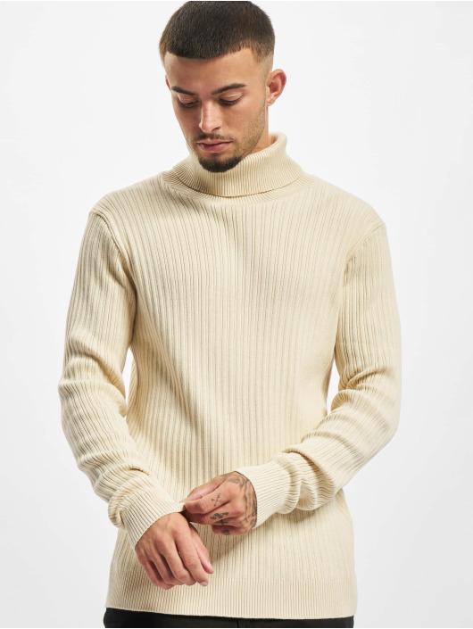 Redefined Rebel Pulóvre Weston Knit biela