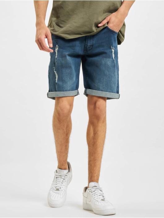Redefined Rebel Shorts Rebel Oslo Destroy blau