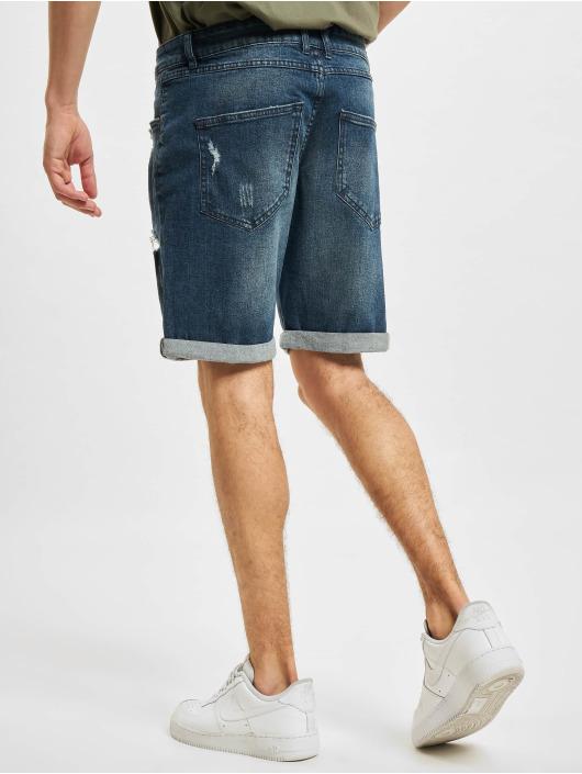 Redefined Rebel Shorts Oslo Destroy blau