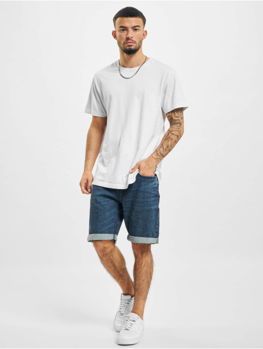 Redefined Rebel shorts Copenhagen blauw