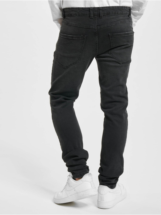 Redefined Rebel Skinny Jeans Stockholm czarny