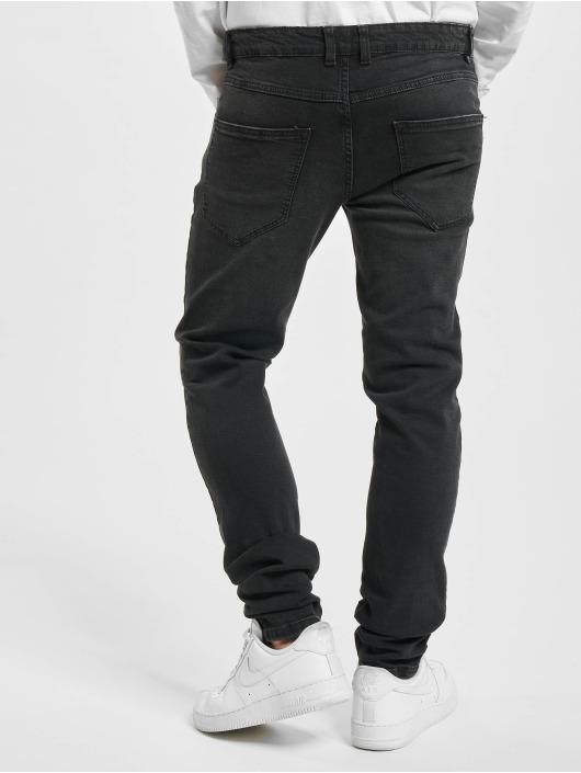 Redefined Rebel Skinny Jeans Stockholm sort