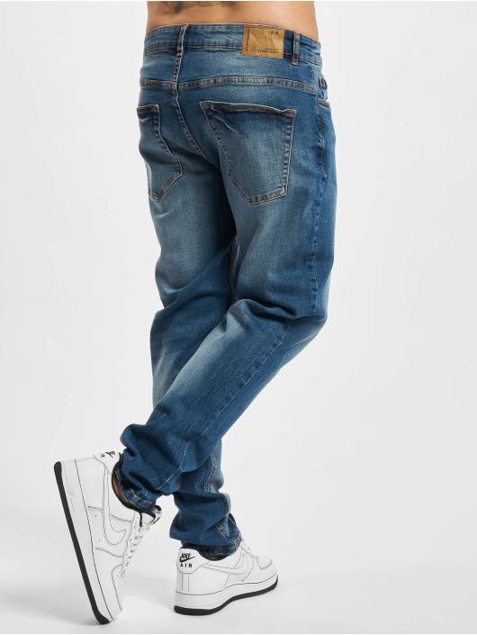 Redefined Rebel Slim Fit Jeans RRChicago modrý