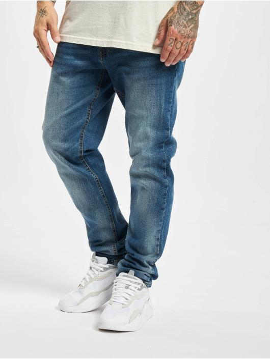 Redefined Rebel Straight Fit Jeans Chicago blå