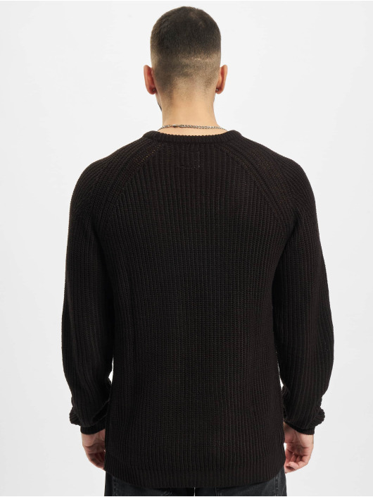 Redefined Rebel Svetry RRTony Knit čern