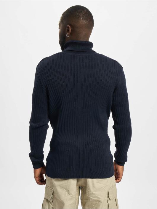 Redefined Rebel Svetry Weston Knit modrý