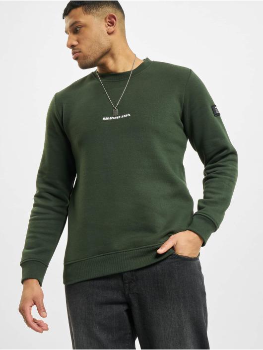 Redefined Rebel Svetry Rrbruce zelený
