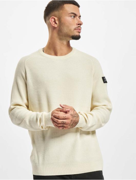 Redefined Rebel Sweat & Pull Bear Knit blanc