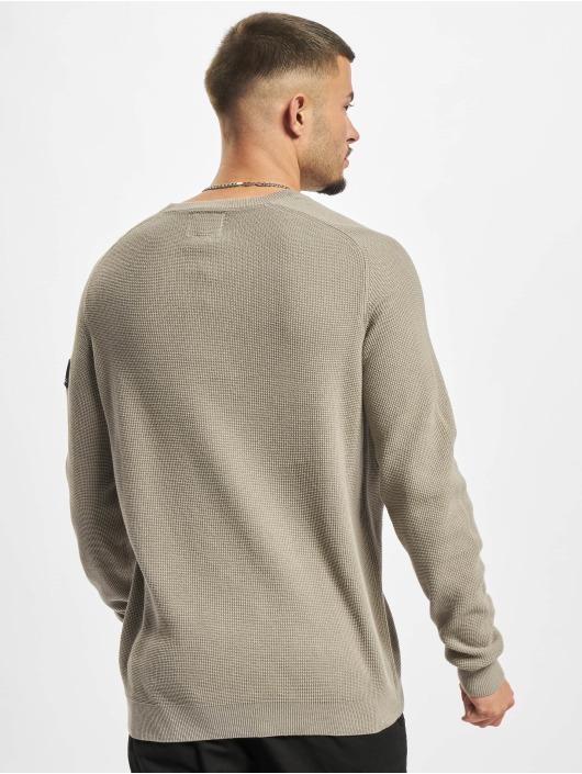 Redefined Rebel Sweat & Pull Bear Knit gris