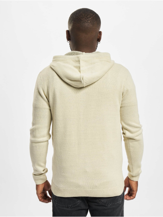 Redefined Rebel Sweat capuche zippé Soren Knit blanc