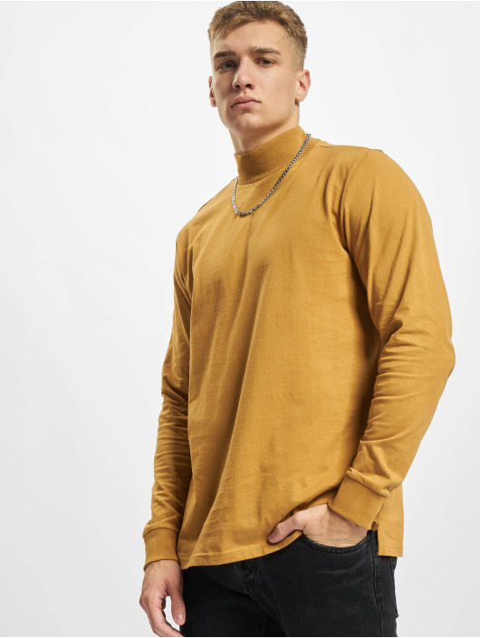 Redefined Rebel T-Shirt manches longues RRPhil High Neck brun