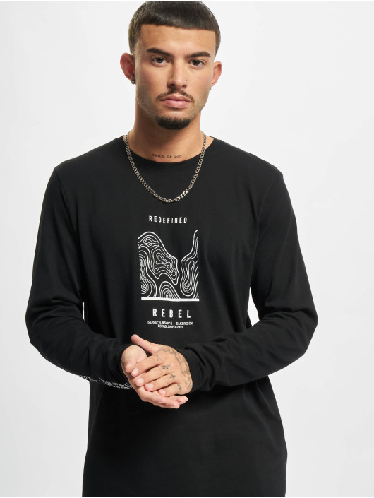 Redefined Rebel T-Shirt manches longues RRJohnson noir