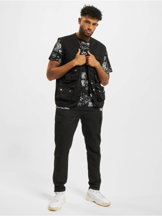 Redefined Rebel T-Shirt Landon schwarz