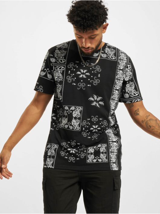 Redefined Rebel T-Shirty Landon czarny