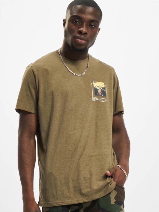 Redefined Rebel T-Shirty RRHarper oliwkowy