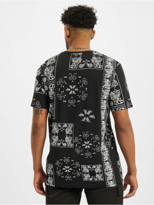 Redefined Rebel T-skjorter Landon svart
