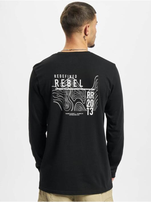 Redefined Rebel Tričká dlhý rukáv RRJohnson èierna