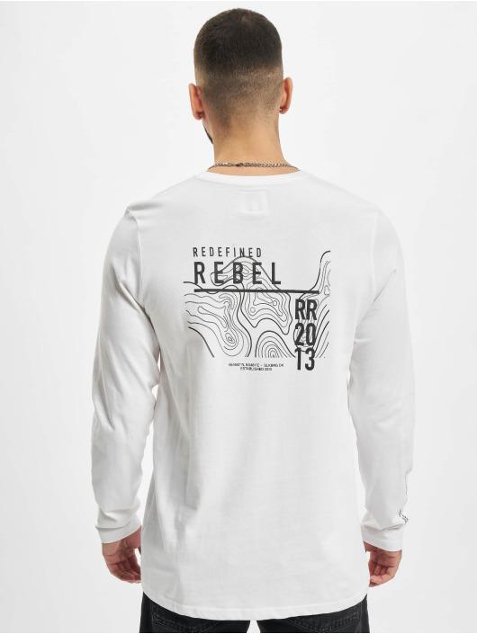 Redefined Rebel Tričká dlhý rukáv RRJohnson biela