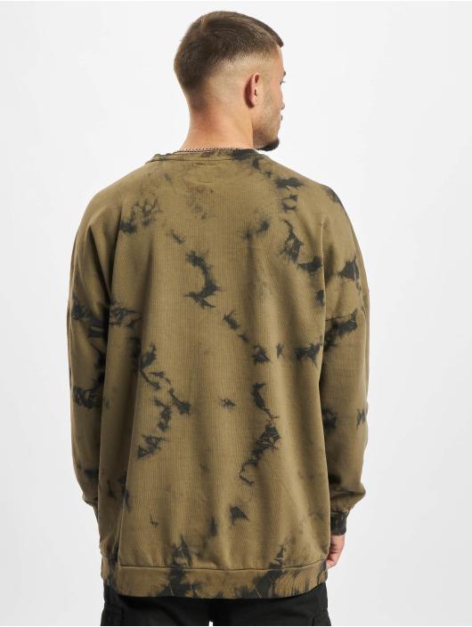 Redefined Rebel trui Timothy olijfgroen