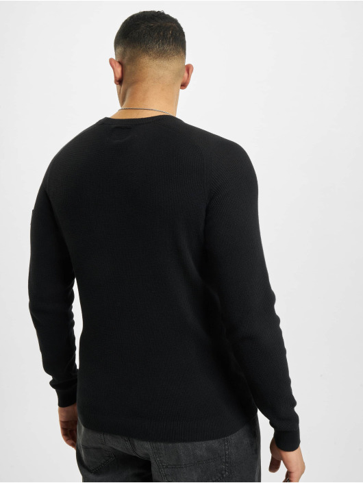 Redefined Rebel trui Rebel Rrbear zwart